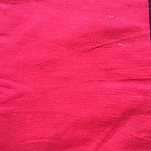 Katoen rood effen mondmasker mondkapje