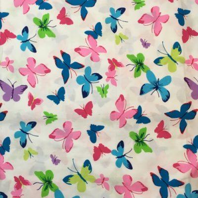 Katoen mondkapje vlinders mondmasker mondkapej
