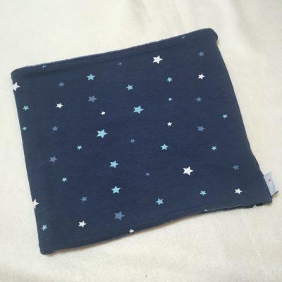 Colsjaal blauwe sterren
